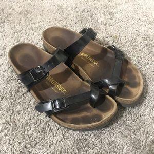 Birkenstock Mayari Black Sandals - Size 39